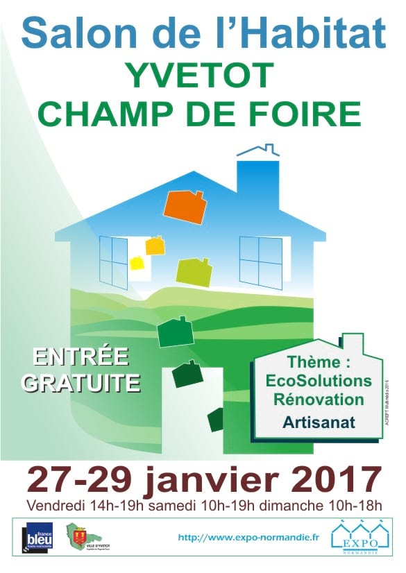 Salon de l 39 habitat yvetot 2017 for Salon de l habitat 2017