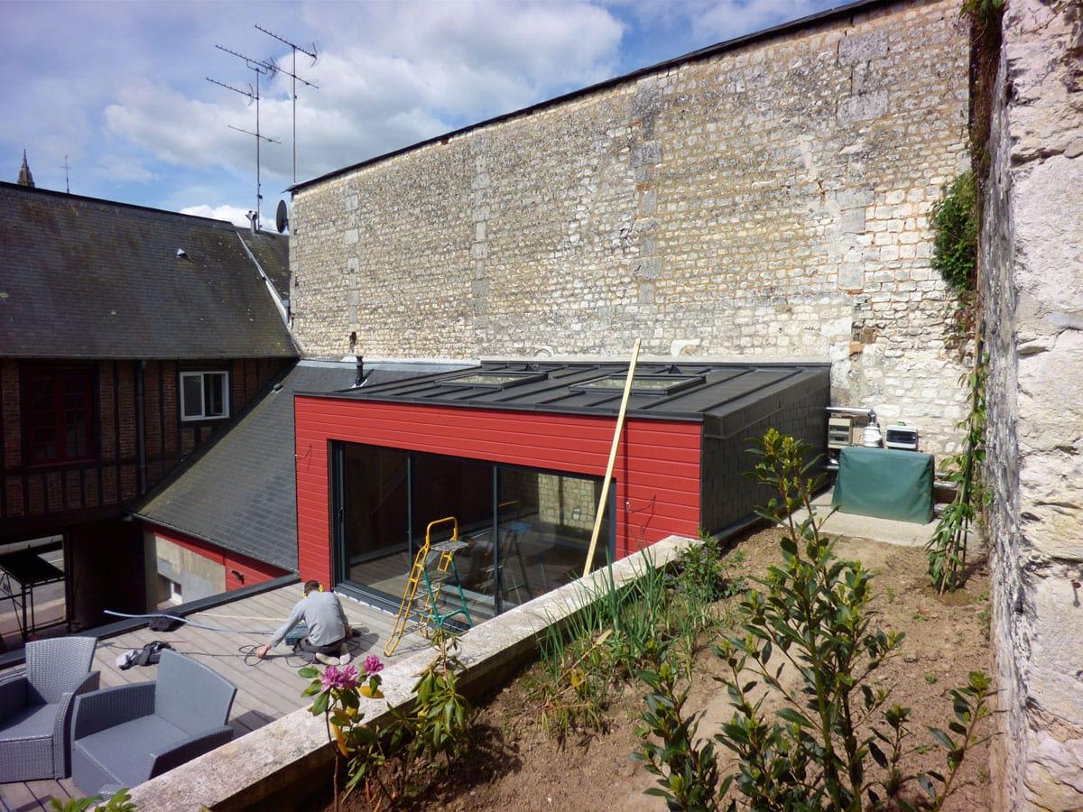 Extraordinaire Construction bois toiture terrasse - Entreprise Duchesne VB39